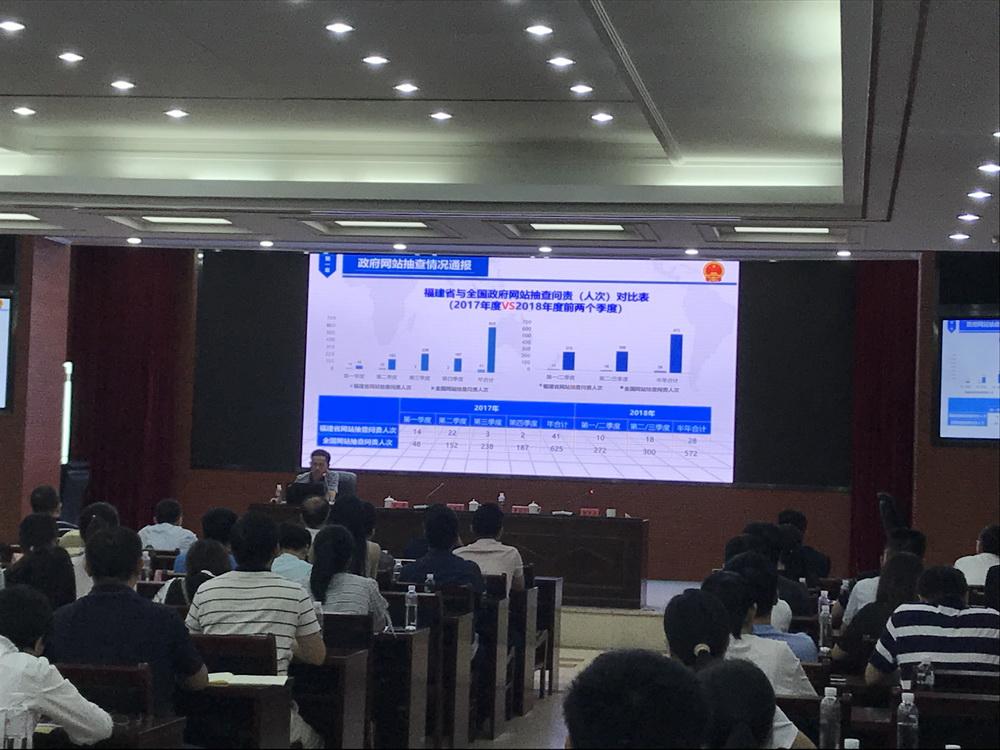 title='全省政府网站建设与管理培训会在福州召开'